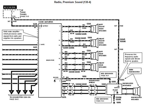 1995 Ford Explorer Wiring Schematic by I Need A Wiring Diagram For The Radio On A 1996 Ford Windstar