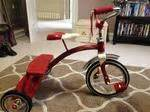 radio flyer dual deck tricycle walmart radio flyer classic dual deck tricycle walmart