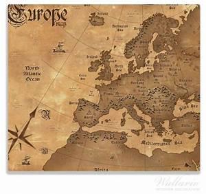 Alte Weltkarte Poster : herdabdeckplatte alte weltkarte karte von europa in englisch ~ Markanthonyermac.com Haus und Dekorationen