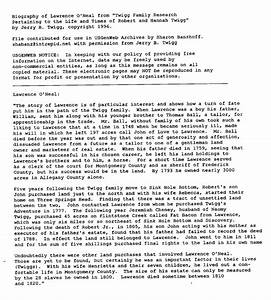 o39neal photo archives scanned documents page 1 With search scanned documents