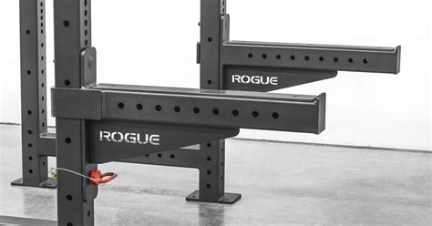 compatible   monster lite racks rogues heavy duty  safety spotter arms  designed