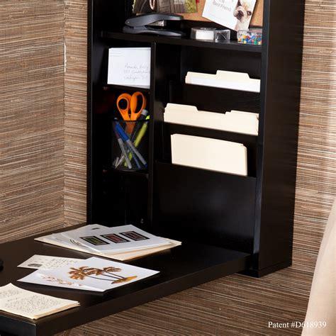 wall mounted desk organizer stylish space saving multi function wall mounted fold out