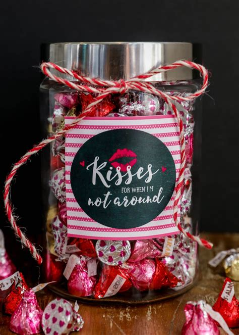 kisses jar cute valentines day gifts valentine gifts