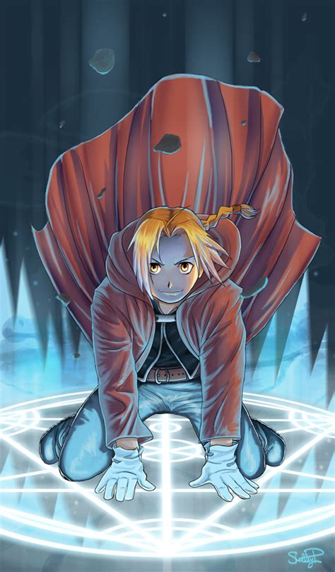 edward elric fullmetal alchemist artwork collection