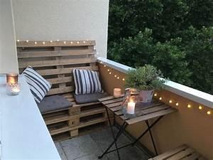 Sofa Für Balkon : 54 besten diy ideen f r balkon und garten bilder auf ~ Pilothousefishingboats.com Haus und Dekorationen