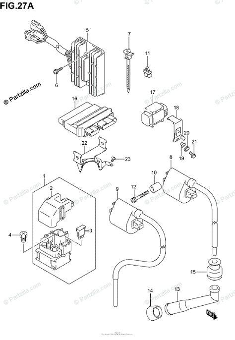 suzuki motorcycle  oem parts diagram  electrical