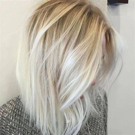 blond polaire meche balayage californien blond polaire