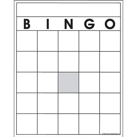 Bingo Card Template Blank Bingo Card Template 5x5 28 Images Blank Bingo