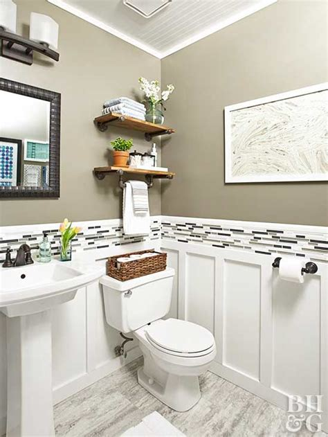 budget friendly tips  renovating  powder room
