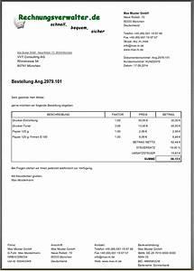 Angebot Rechnung : mit rechnungsverwalter erzeugte dokumente ~ Themetempest.com Abrechnung