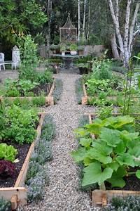 kitchen garden update2 potager jardins et jardin With idee deco jardin gravier 8 jardin terrasse et potager 18 photos lokelmat