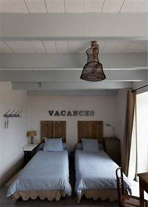 Déco Bord De Mer Chambre : decoration chambre style bord de mer ~ Teatrodelosmanantiales.com Idées de Décoration