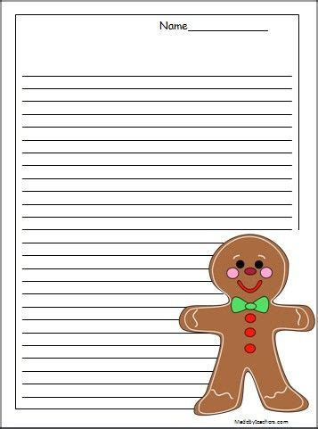 Gingerbread Man Writing Paper Get Math Help Gingerbread Man Recipe