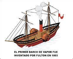 Primer Barco De Vapor Revolucion Industrial by Resultado De Imagen De Barco A Vapor Revoluci 243 N Industrial