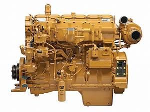 Twin Turbo C15 Cat Engine