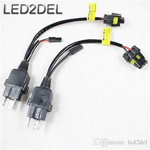 Auto Car Motorcycle Hid Bi Xenon H4 3 H4 9003 Hb2 Hi  Lo Controller Relay Wire Wiring Harness 12v