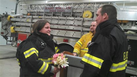 Bride Surprised With Wedding At Fire