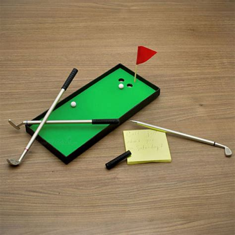 mini golf de bureau mini kit de golf avec stylo commentseruiner