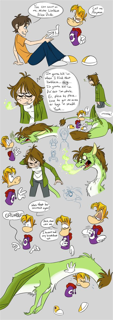Gwee Meets Rayman Part 5 And 6 By Earthgwee On Deviantart