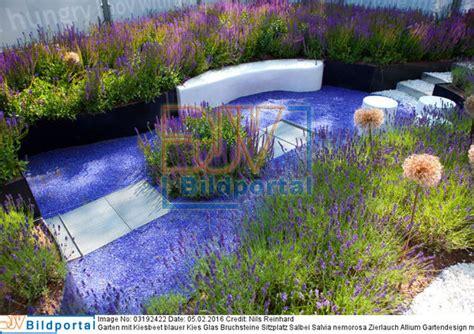 Sitzplatz Garten Kies by Details Zu 0003192422 Garten Mit Kiesbeet Blauer Kies