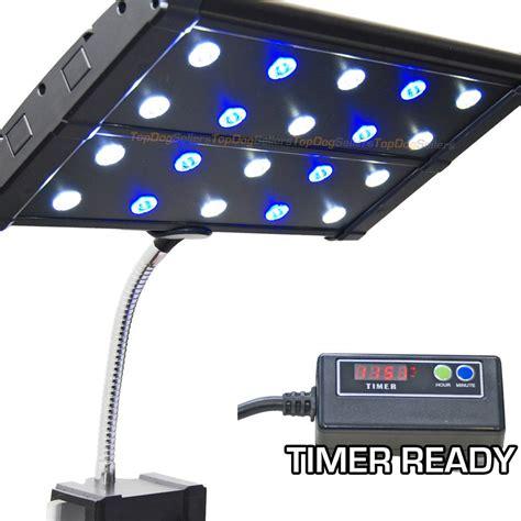 evo clip 3w timer ready led aquarium light nano