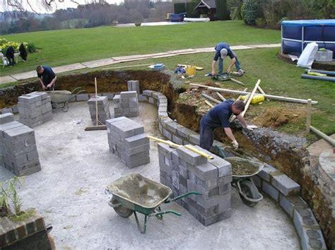 koi pond construction pictures pond construction pond cleaning pond construction surrey guildford london