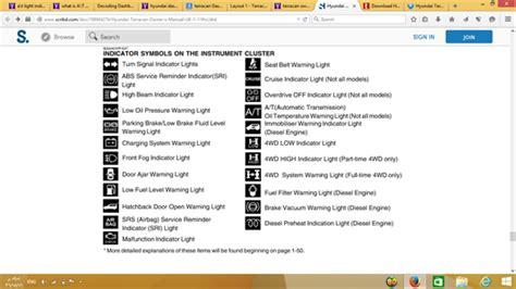 2016 hyundai elantra warning lights how to fix 2006 hyundai terracan 2 9 what does blinking