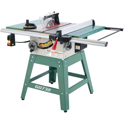 grizzly  contractor table  review table  central
