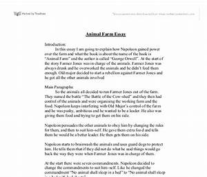 Science And Literature Essay Essay On Animal Farm And The Russian Revolution Full Example Of Thesis  Statement For Essay Research Proposal Essay Topics also Important Of English Language Essay Essay Of Animal Farm Teenage Depression Essay Writing Prompts Animal  Examples Of Essays For High School