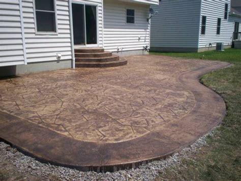 cement patios pictures plain concrete patio home design roosa