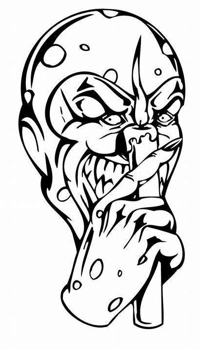 Tattoo Drawings Clowns Clown Drawing Tattoos Homie