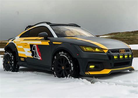 Audi Tt Safari audi tt safari turns the sport coupe into an road