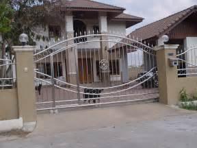 Home Design Gallery - steel gate for modern house design home design gallery