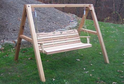 wood porch swing frame sets wooden home