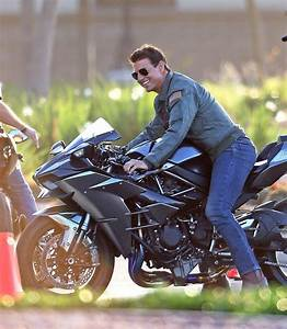 Tom Cruise Feels the Need for Speed in Top Gun 2 Set Photo