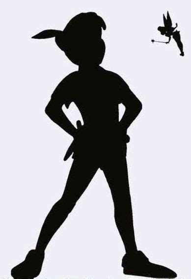 Tinkerbell Pumpkin Carving Stencil Free by 17 Best Ideas About Peter Pan Silhouette On Pinterest