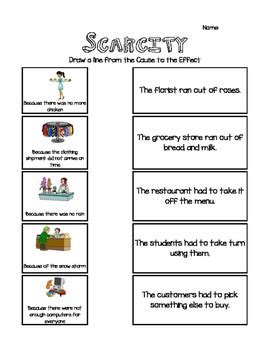 scarcity  effect activity  teaching math