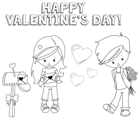 valentines day coloring page valentines coloring pages happiness is