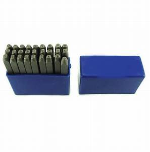 metal stamping letter punch set 6oz cross pien hammer ebay With stamping letters into metal