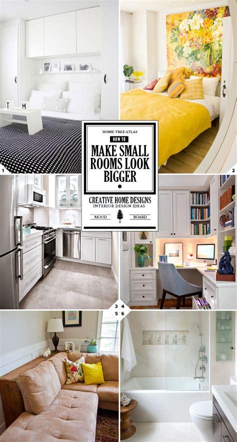Decorating Ideas To Make Bedroom Look Bigger by How To Make A Small Room Look Bigger Creative Design