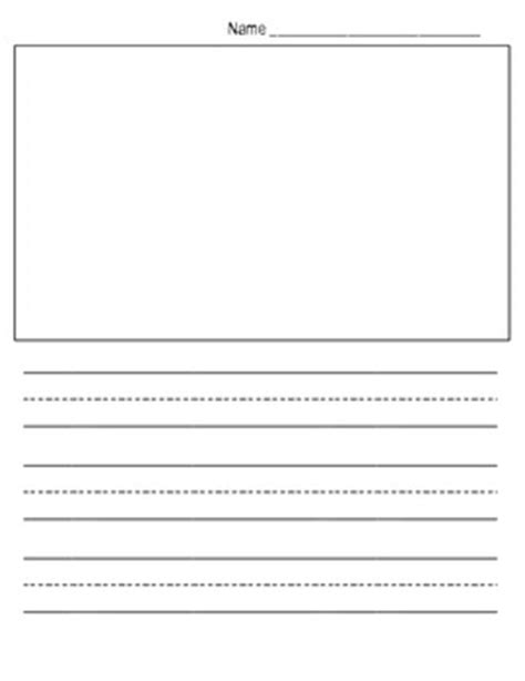 free kindergarten writing paper template show and tell 612 | original 516260 1