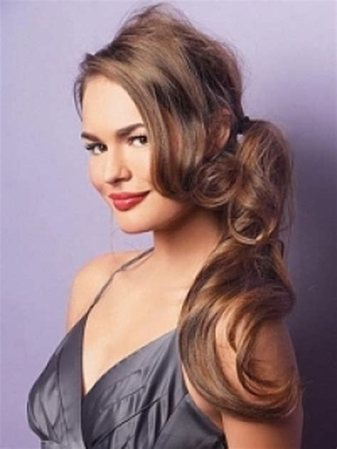 easy party hairstyles  long hair