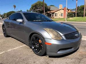2004 Infiniti G35 Coupe Manual Transmission For Sale