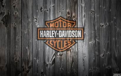 Davidson Harley Background Wood Wallpapers Orange Logos