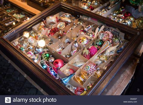 vintage christmas decorations  sale  christmas market