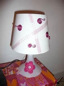 Lampe De Chevet Violet : mme violette fabrique une lampe de chevet madame violette ~ Teatrodelosmanantiales.com Idées de Décoration