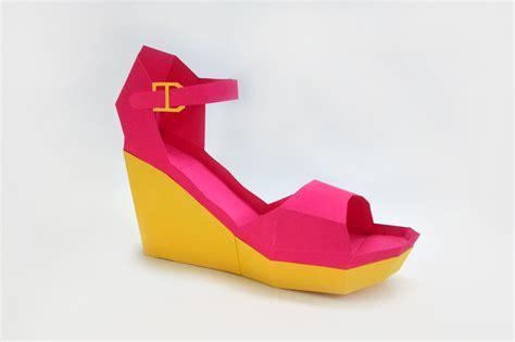 Diy High Heel Shoe