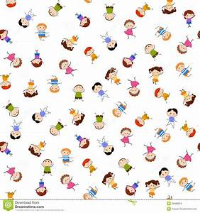 Kids Seamless Pattern Background Royalty Free Stock Images ...