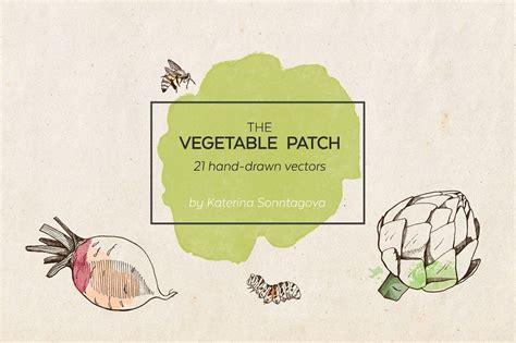 vegetable patch purposesvectorslogosfarmers
