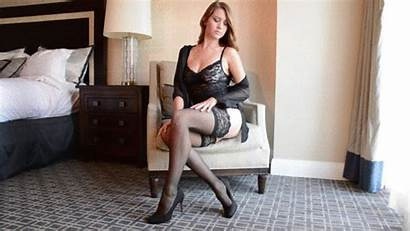 Lingerie Marie Chrissy Striptease Strip Tease Clip